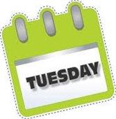 Tuesday clipart