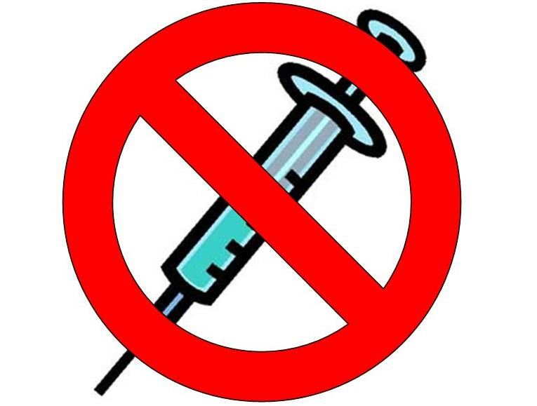 No Needles Clip Art