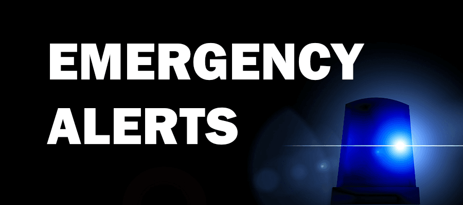 Emergency Alerts Blue