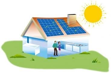 Solar home picture